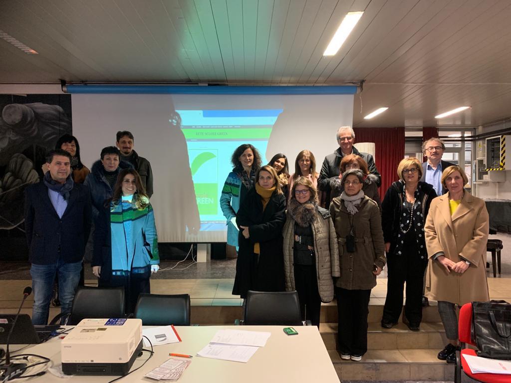Firma ufficiale accordo Rete Nazionale Scuole Green - Liceo Socrate Roma 5 dicembre 2019